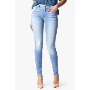 7 for All Mankind Knee Hole Skinny Jeans